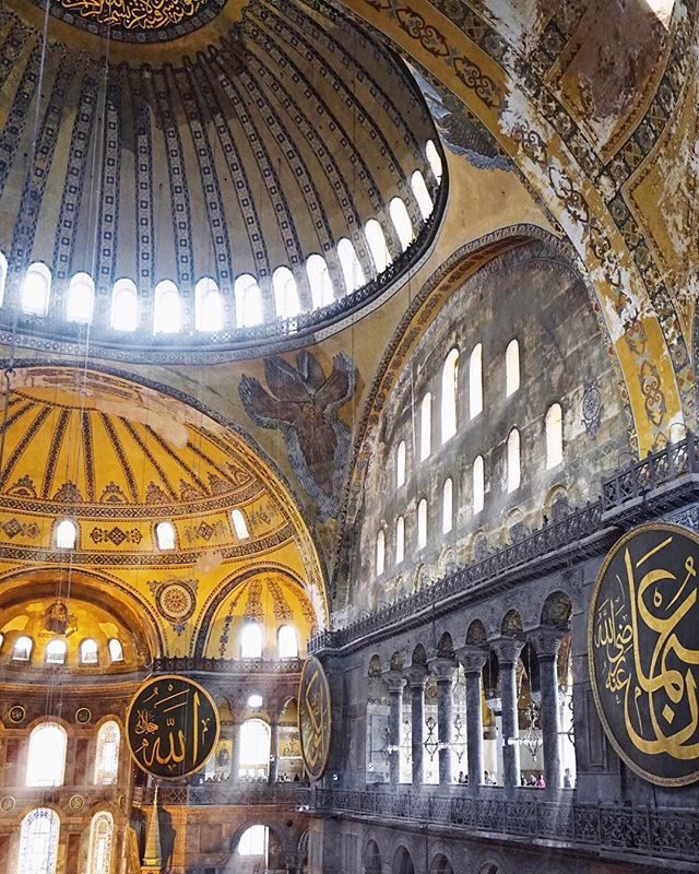 First, there's the Hagia Sophia.