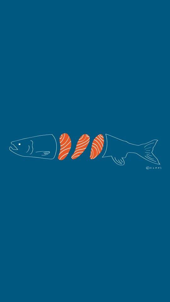 #일러스트 #illust #illustration #illustrator #일상 #데일리 #daily #드로잉 #drawing #draw #디자인 #design #그래픽디자인 #graphicdesign #연어 #손그림 #salmon