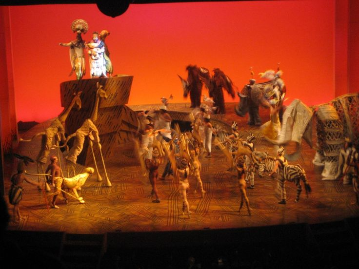 Absolutely the most amazing thing I have ever witnessed in my 19 years of living. Lion King on Broadway<3