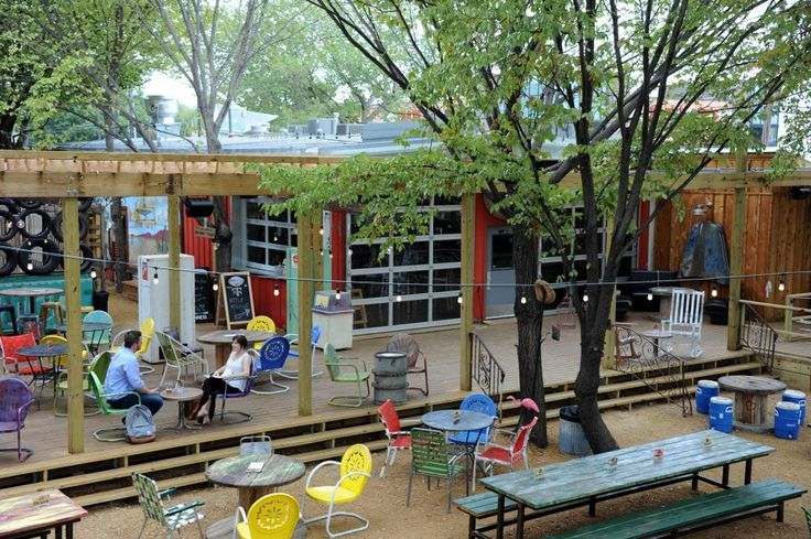 The Truck Yard, a funky new beer garden and food truck park, recently opened on…
