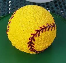 Image result for softball cupcakes
