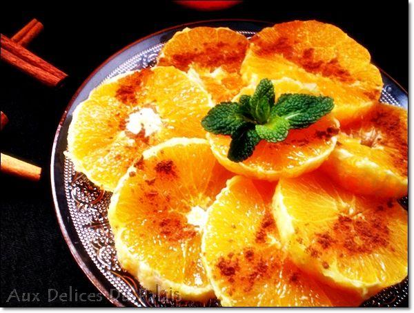 Ensalada de naranja con canela - Blog saleha receta cocina argelina pasteles argelinos y marroquíes cocinan pasteles orientales fáciles ...