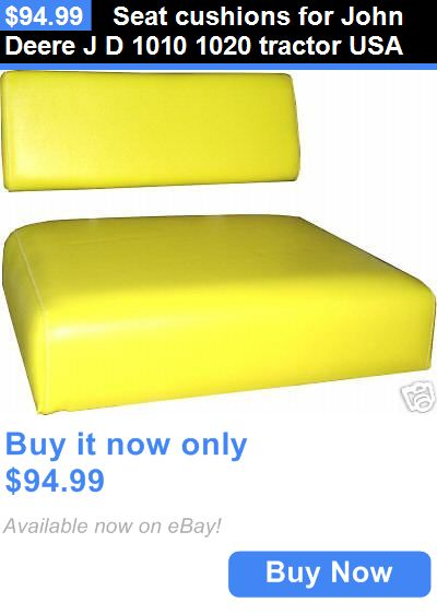 heavy equipment: Seat Cushions For John Deere J D 1010 1020 Tractor Usa BUY IT NOW ONLY: $94.99