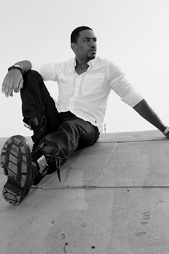 A Work of Art    Laz Alonso!