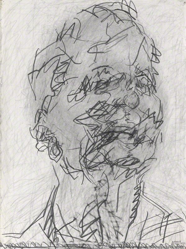 frank auerbach self portrait - Google Search