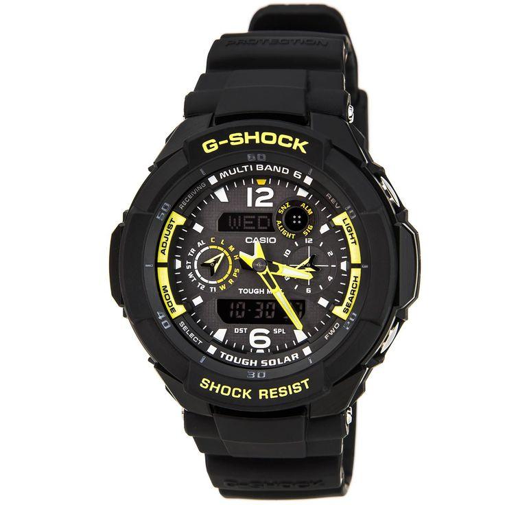 Casio GW3500B-1A Men's G-Shock Alarm Atomic World Timer Watch