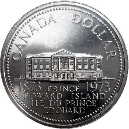 Canadian Coin Collection: 1973 - Prince Edward Island's Centennial