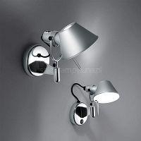 Artemide Tolomeo Micro Faretto kinkiet  - reflektor kolor aluminium