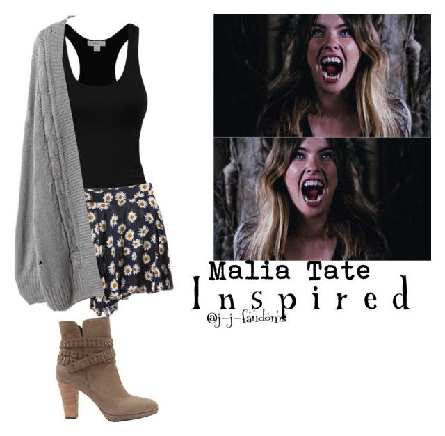 """malia tate ""teen wolf"" (inspired outfit)"" by j-j-fandoms ❤ liked on Polyvore featuring Mint Velvet"