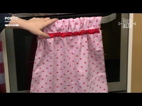 Pano para Fogão - Costura com Riera Alta - YouTube
