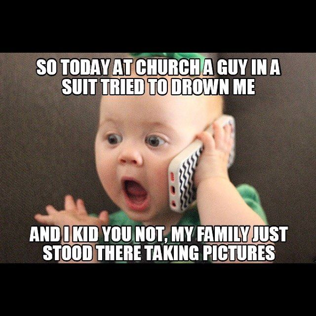 Church humor