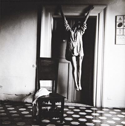 Untitled, Rome, 1977-1978, Francesca Woodman.