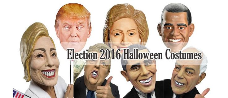 THE USA ELECTION 2016 HALLOWEEN COSTUMES