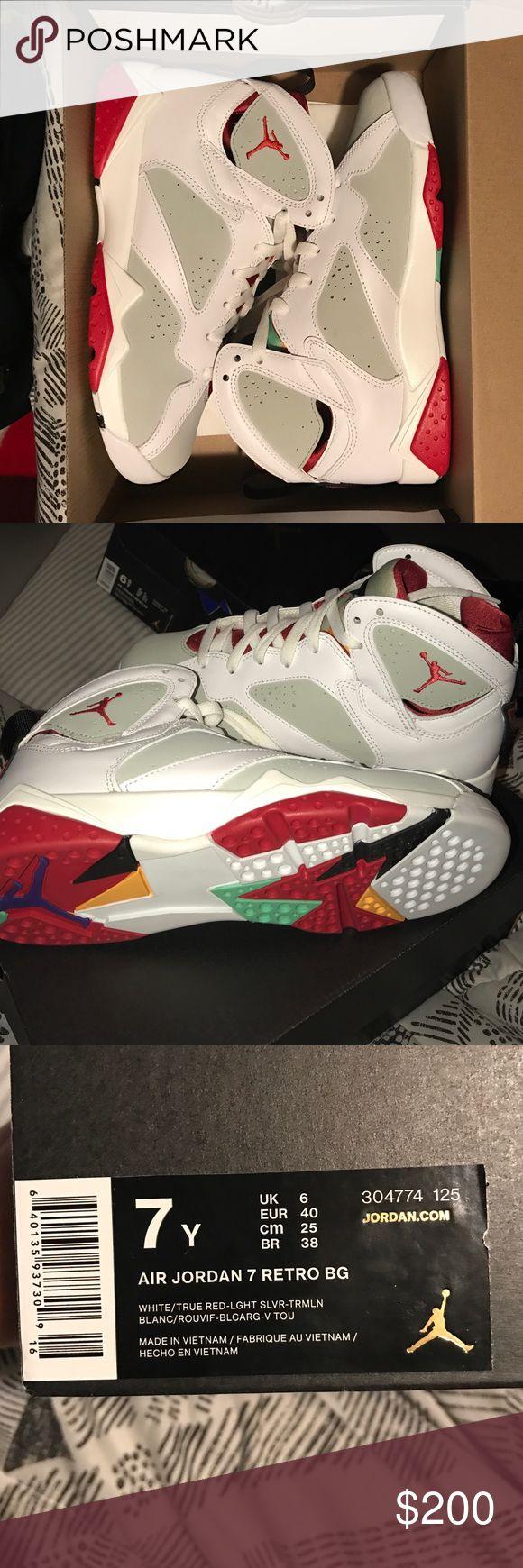 """Air Jordan Retro 7's """"Hares"""" Brand new Retro Jordan's. Never worn Jordan Shoes Sneakers"""