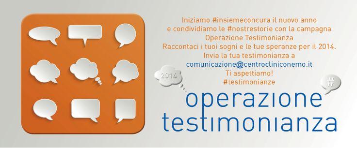 Operazione testimonianza 2014