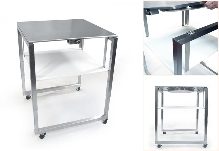 Get moving and grooving with the Cook-N-Dine Teppanyaki rolling kitchen carts. This custom made design features a shelf for storing utensils and ingredients, making it ideal for presentation cooking.
