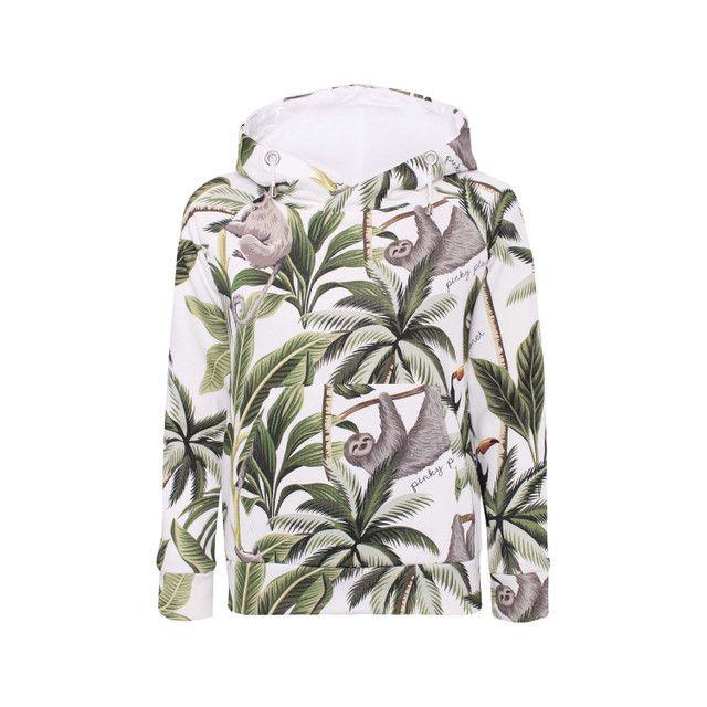Bluza Jungle Z Kapturem Fashion Mens Tops Shirt Dress