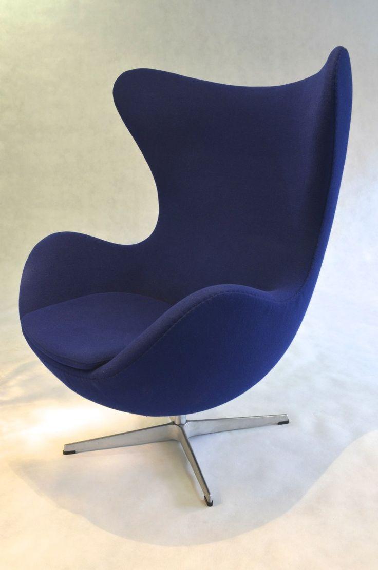 Egg Chair Model 3316 by Arne Jacobsen for Fritz Hansen, 1958. $8,950