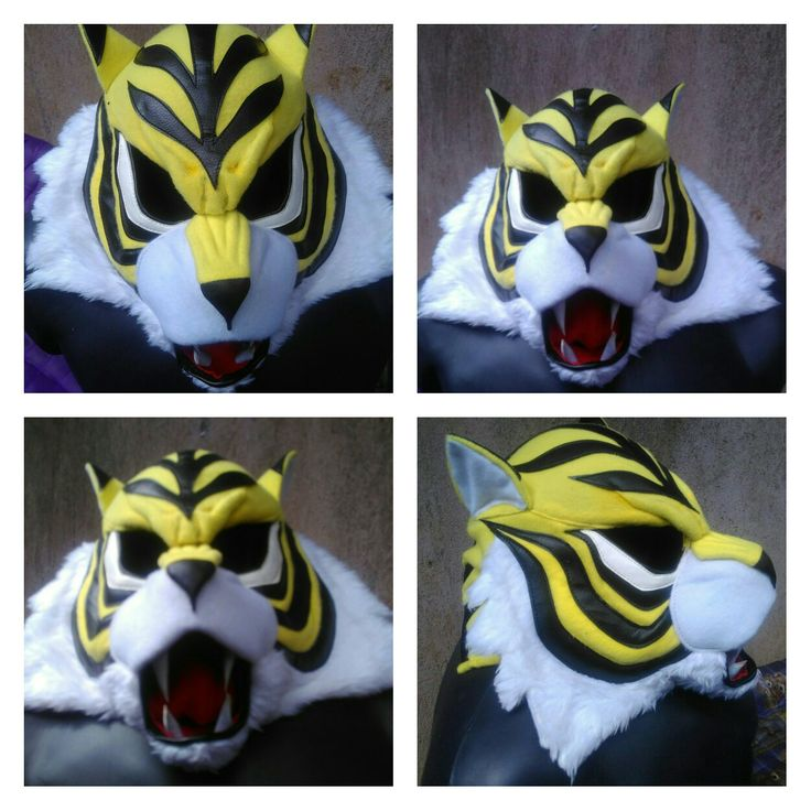 Tiger mask cosplay