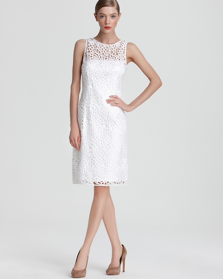 Adrianna Papell Sheath Dress Lace Bloomingdale S Love This Rehearsal Dinner