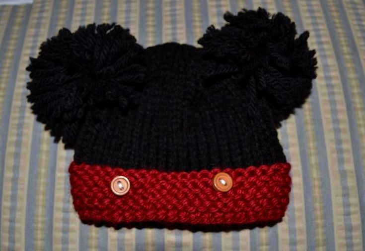 Knitting Patterns For Nicu Babies : Preemie Mickey Hat Baby...Preemie Knit & Crochet Pinterest Free pat...