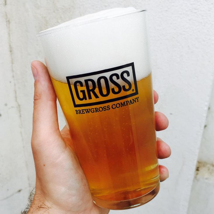 Pint Glass of Gross Beer