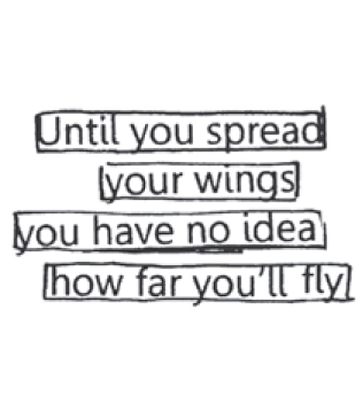 Ranger Dyan Reaveley's Dylusions Wings Quote Mounted Stamp