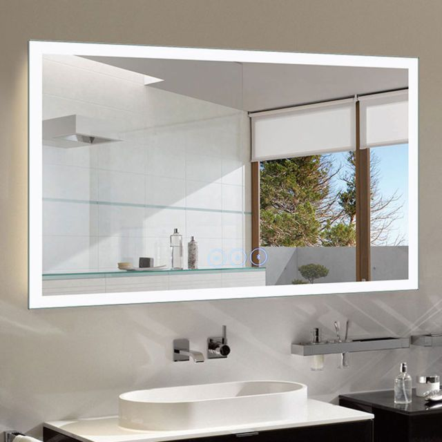 Bathroom Vanity Wall Mirrors Led Mirror Bathroom Creative
