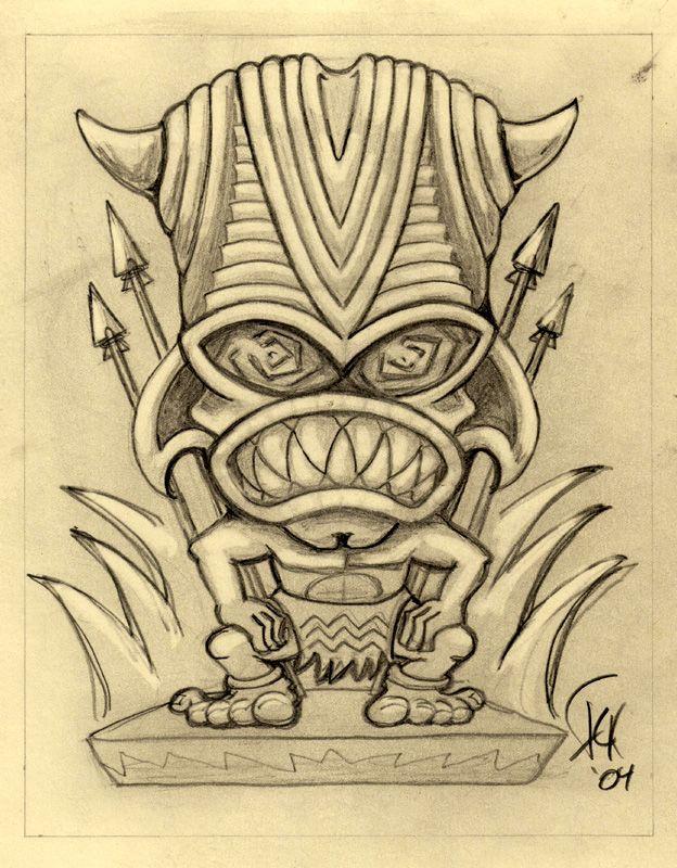 131 best Tiki Reference images on Pinterest | Tiki tiki, Carving and ...