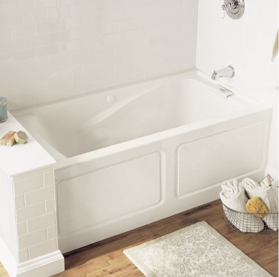 You'll Want to Turn Into a Prune in These Small Soaker Tubs: American Standard 'Evolution' Deep-Soak Tub