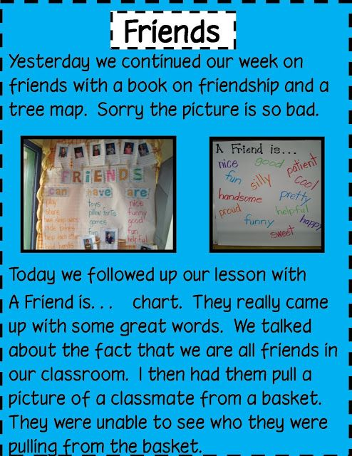 Good Friends lesson  Golden Gang Kindergarten: February 2012