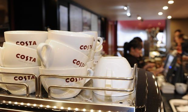 Costa sales growth dips as UK coffee drinkers turn to artisan options