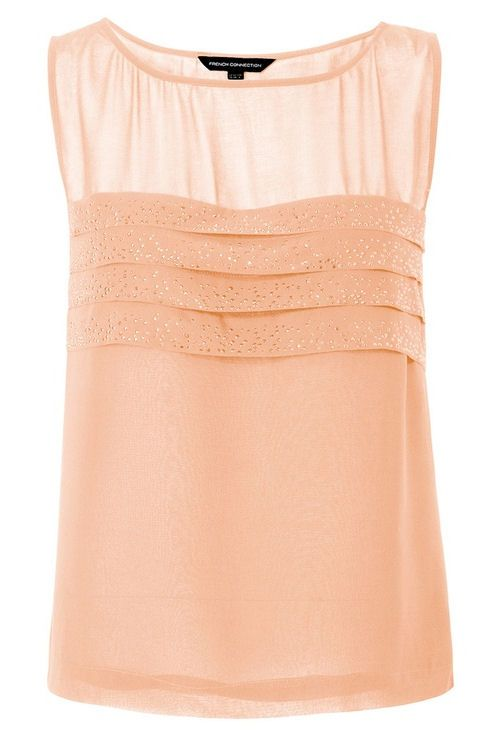 Coral Sparkle Summer Blouse <3