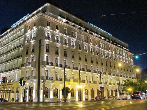 Hotel Grande Bretagne, Athens.  The history, the elegance, the location--I loved this hotel!!