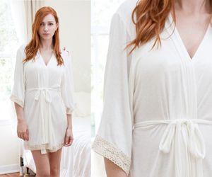 Bridal Robe Ivory