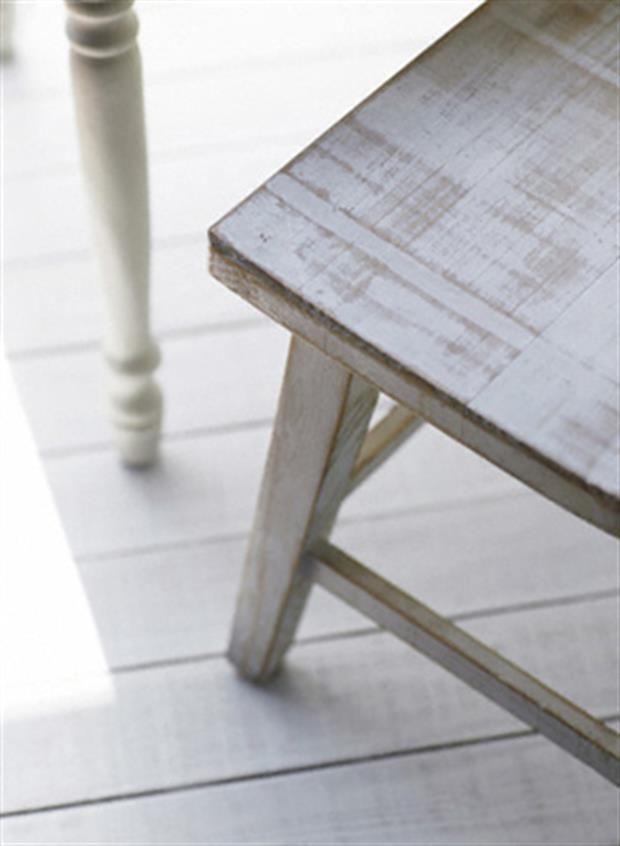 M s de 25 ideas incre bles sobre mesas de comedor con for Como envejecer un mueble blanco