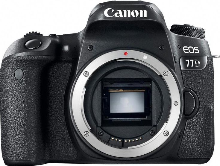 Canon – EOS 77D DSLR Digicam (Physique Solely) – Black