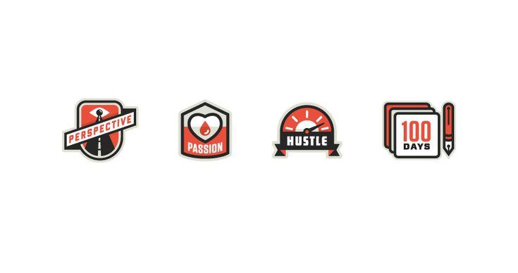 http://www.ericrmortensen.com/: Graphic Design, 04 Icons, Design Inspiration, Icon Logo Designs, Grphc Icons, Badges Kernandburn Com, Burn Badges, Icons Design