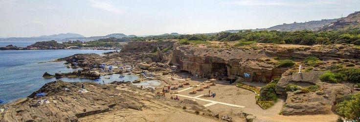Kalithea Oasis #beach!!! #Sunny #September still goes on!!!  #Rhodes #Rodos #Greece
