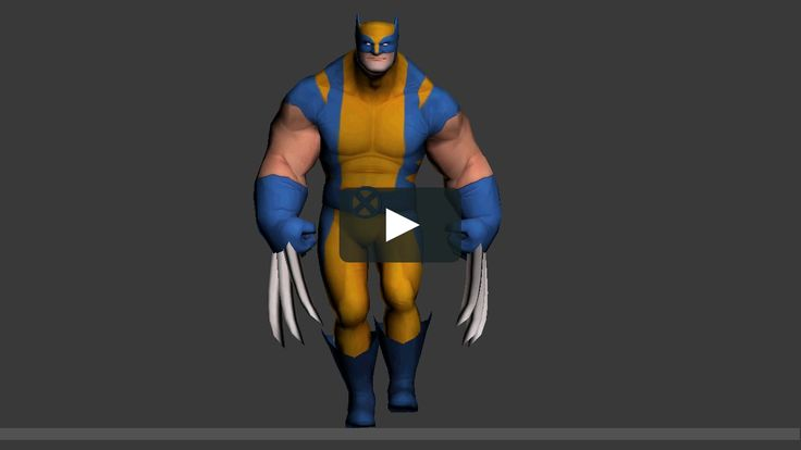 A walk cycle test.  Animation and rig done in 3dmax.  Model Created by my very…