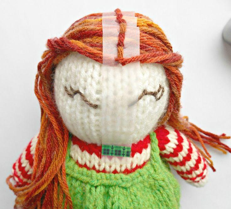 Amigurumi Doll Hair Tutorial : Best tutorial � amigurumi images on pinterest
