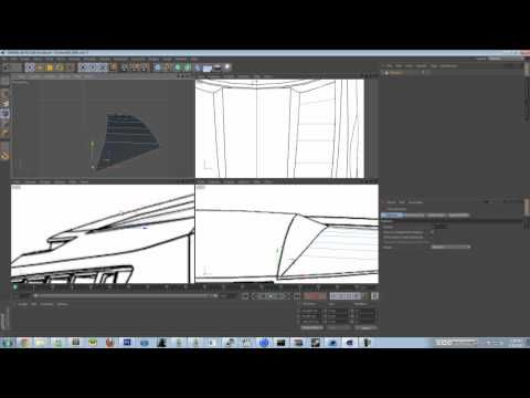 How to Model A Car In Cinema 4D | Polygon Modelling | Camaro 2008 - YouTube