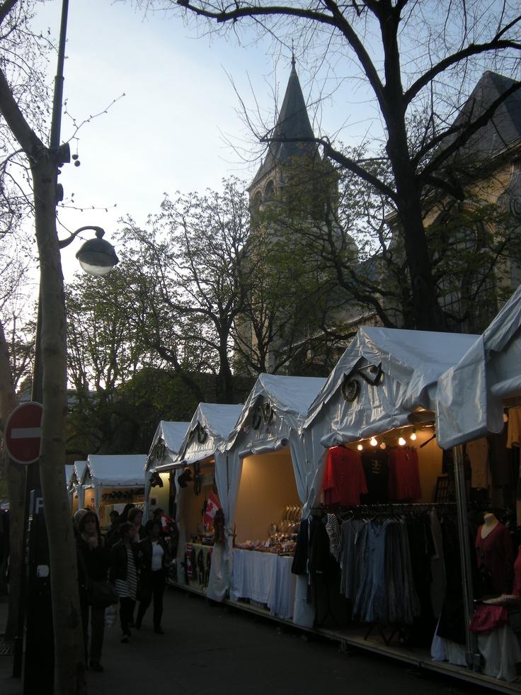 Paris Saint germain des près marché de Noel  Paris Saint germain des près marché de Noel by Marc Lacelle   The Christmas Market in St.Germain..