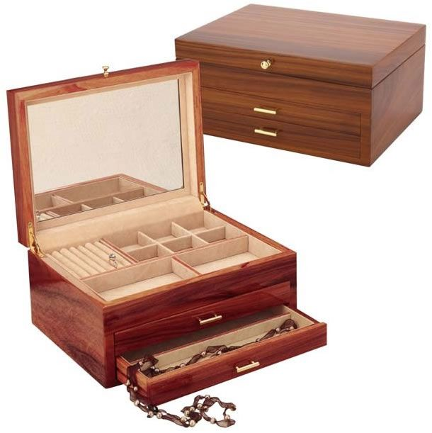 66 best Jewelry Boxes for Women images on Pinterest Womens