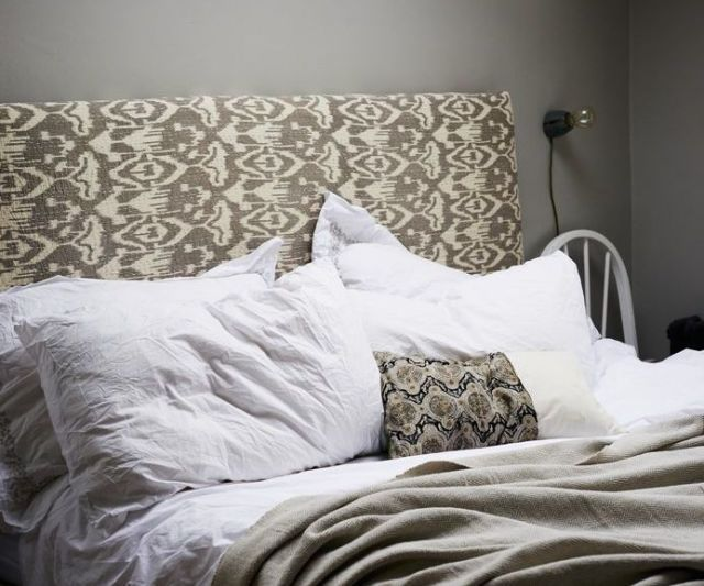 How to make a fabric-covered headboard  - housebeautiful.co.uk