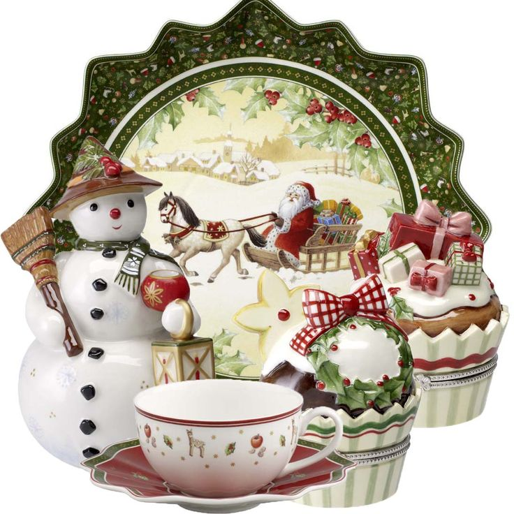 Image detail for -Christmas from Villeroy u0026 Boch  sc 1 st  Pinterest & 155 best Christmas Dinnerware images on Pinterest | Christmas china ...