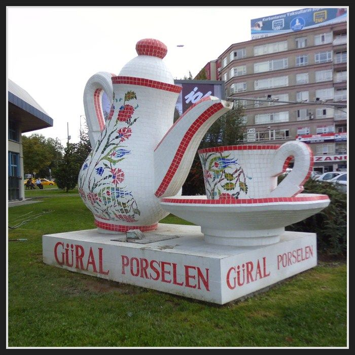 Ginormous kettle with cap - Ankara, Turkey