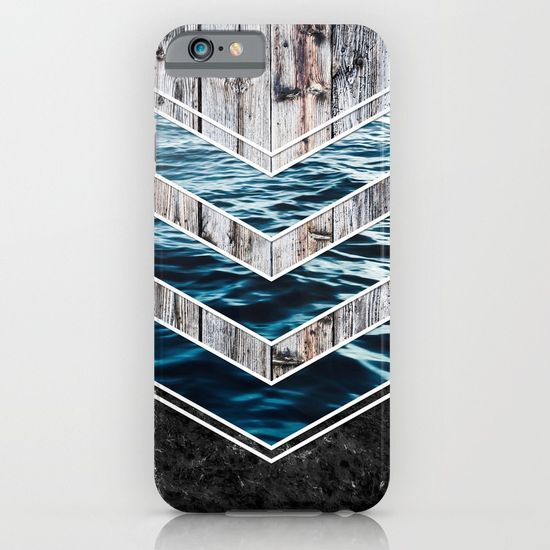 Striped Materials of Nature III iPhone & iPod Case #wood #wooden #marble #stone #sea #ocean #stripe #stripes #striped #nature #texture #iphone #case