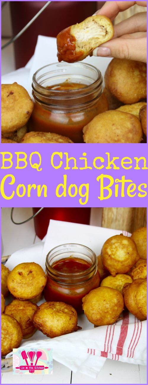 These BBQ chicken morsels wrapped in the comfort of corn dog batter are the appetizer you need to try.