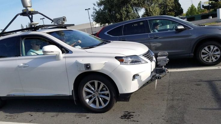 Lexus SUV Being Used for Apple's Self-Driving Software Test Spotted on the Road #AppleNews #TechNews